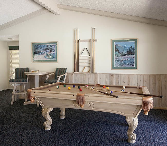 Clubhouse interior at Knollwood Meadows Apartments