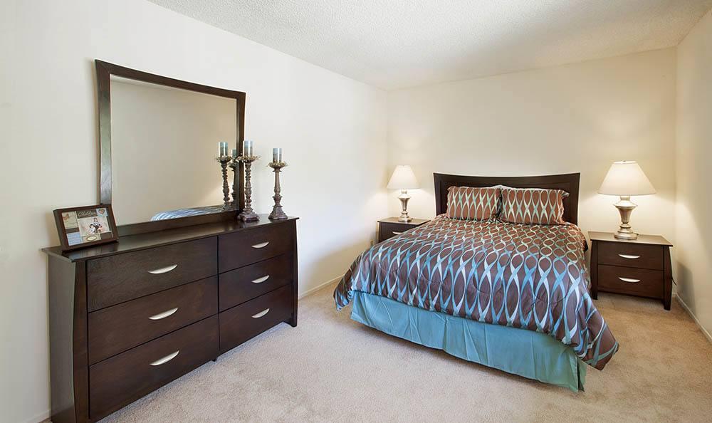 Bedroom at Knollwood Meadows Apartments in Santa Maria