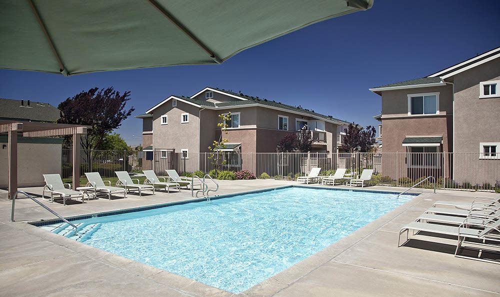 Pool at apartments in Santa Maria, CA