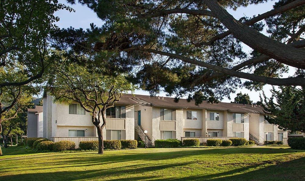 Exterior at apartments in Lompoc, CA