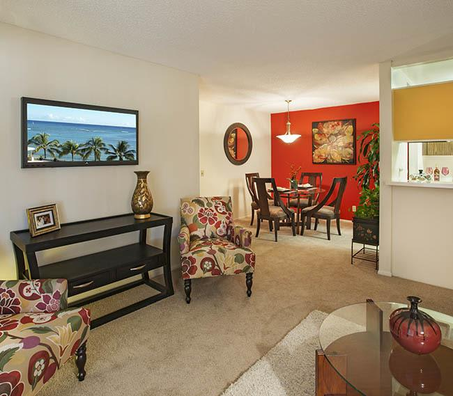 Home interior at Patterson Place Apartments