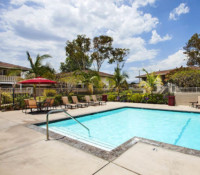 Pool at Patterson Place Apartments