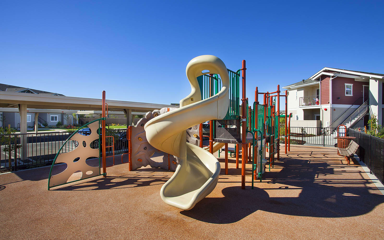 Kids Playground at Siena Apartments in Santa Maria, CA