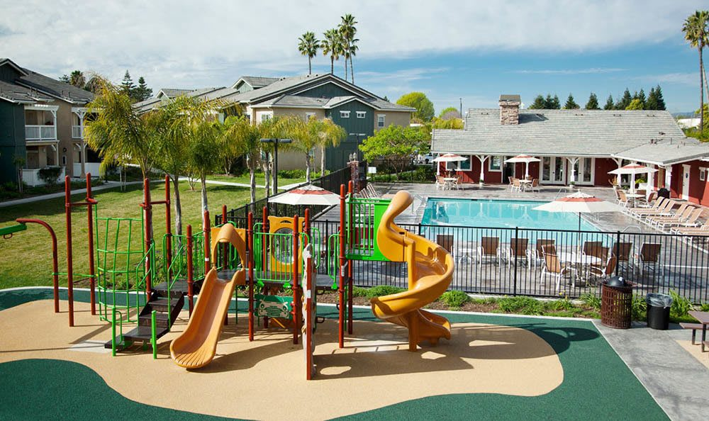 Playground at Sumida Gardens Apartments in Santa Barbara