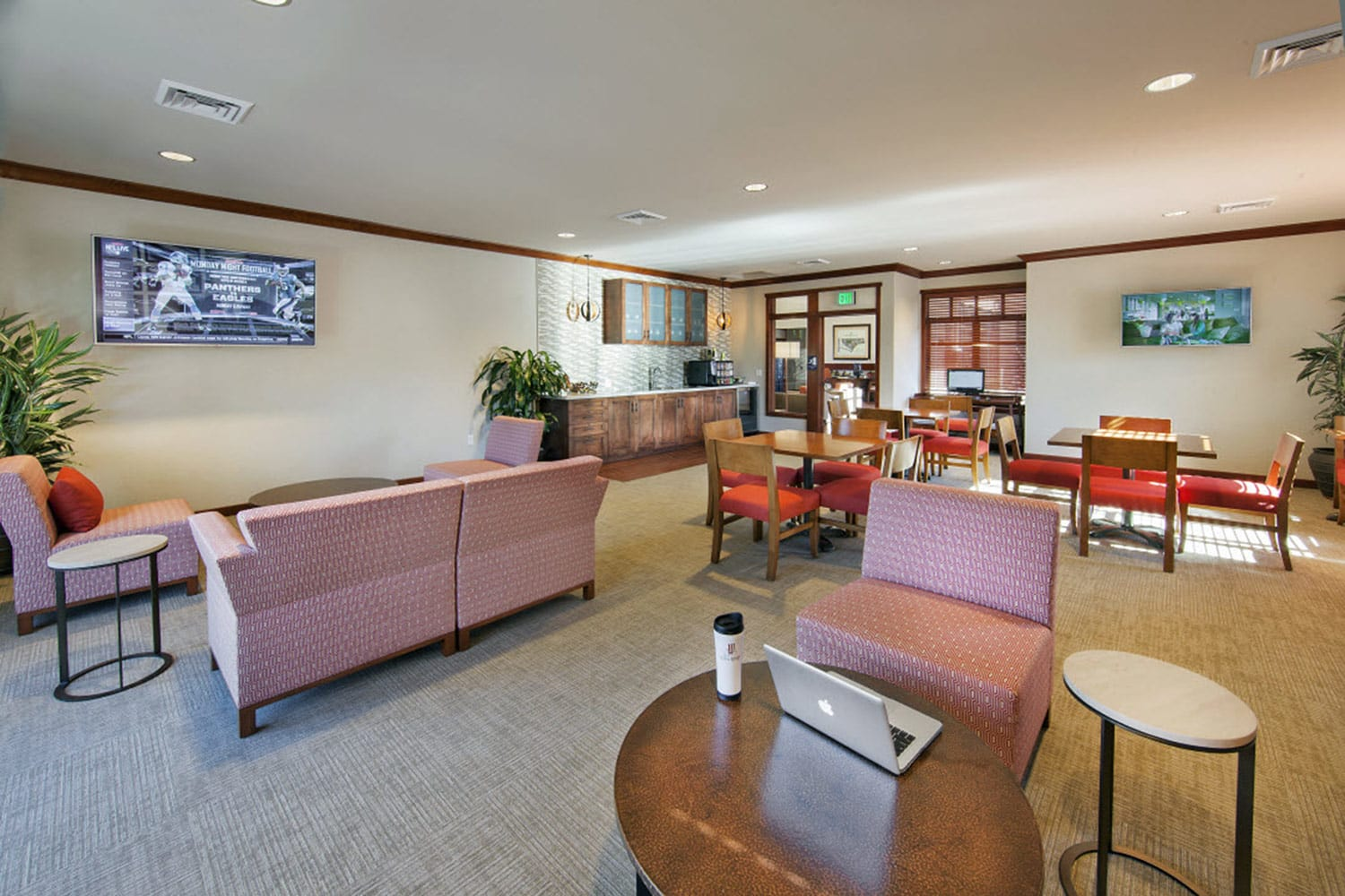 Modern Clubroom at Willow Springs Apartments in Goleta, CA