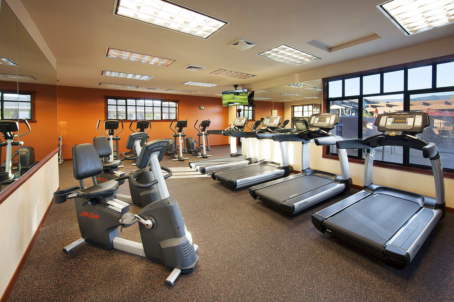 Modern Fitness Center at Willow Springs Apartments in Goleta, CA