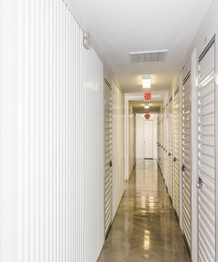 Climate-controlled units at self storage in Fort Worth, TX