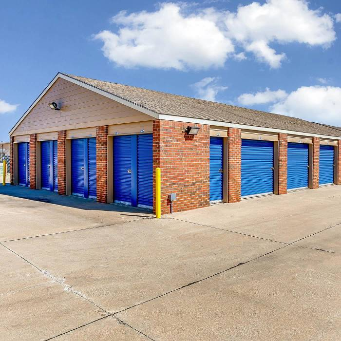 Climate controlled units at self storage in Wichita, KS
