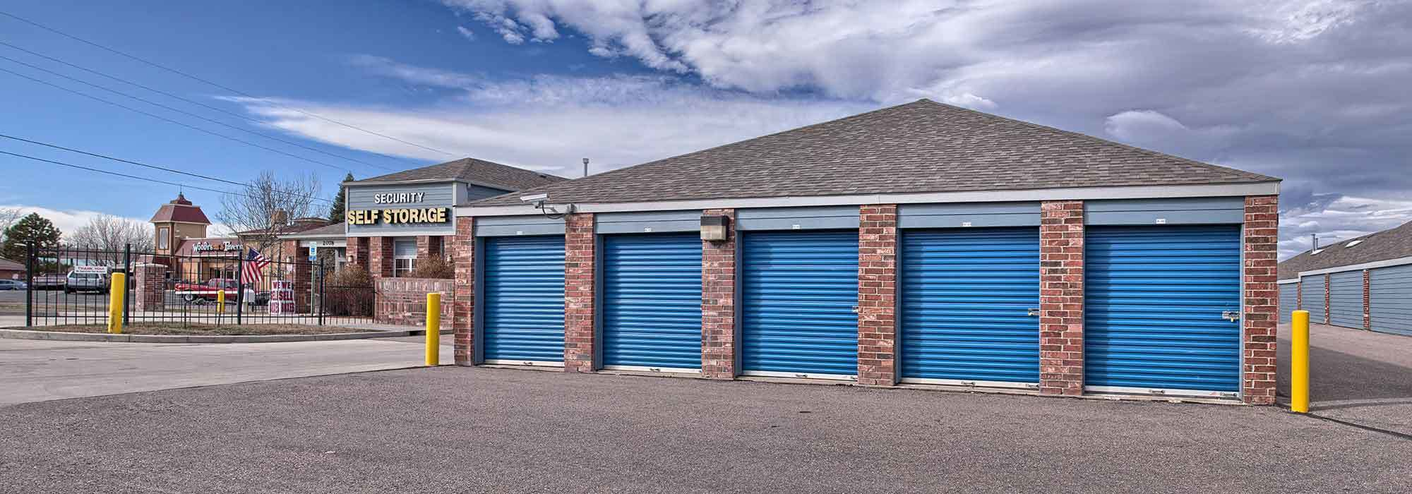 Self storage in Denver CO