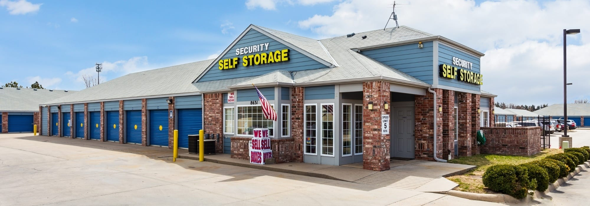 Self storage in Lenexa KS