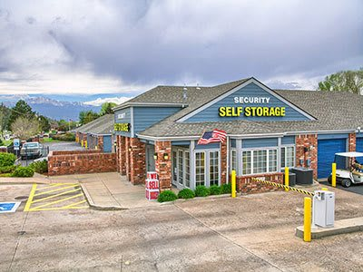 Security Self-Storage Austin Bluffs location in Colorado Springs, Colorado