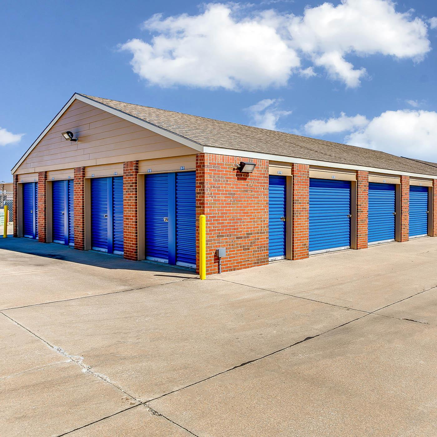 Front View of Unit at Security Self-Storage