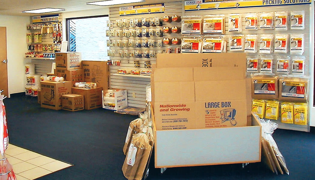Packing Supplies at Mini Storage Companies