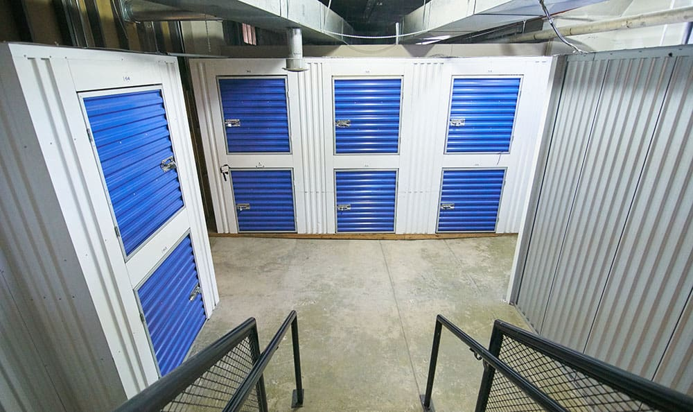 United Stor-All Central Denver Self Storage facility interior mini units