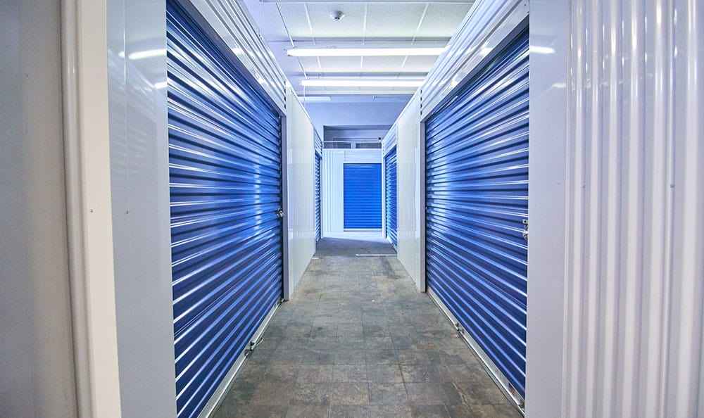 United Stor-All Central Denver Self Storage facility interior