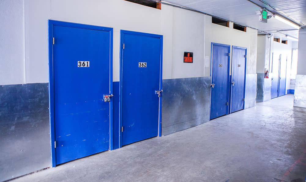 United Stor-All Central Denver Self Storage facility interior climate control