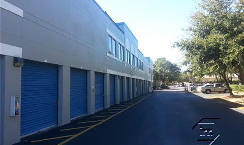 United Stor-All Self Storage units exterior