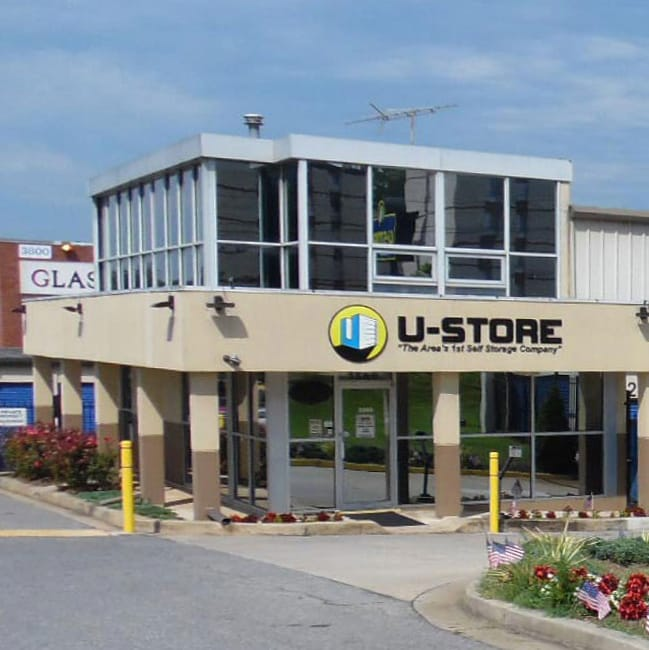U-Store Self Storage's location in Bladensburg, MD