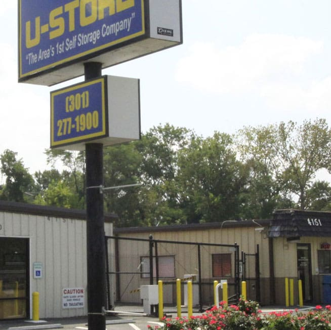 U-Store Self Storage's location in Kenilworth Bladensburg, MD