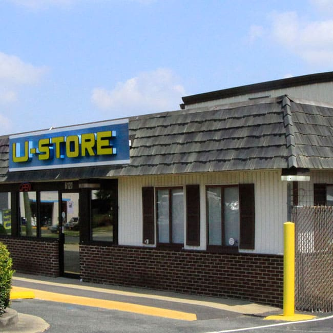 U-Store Self Storage's location in Oxon Hill, MD