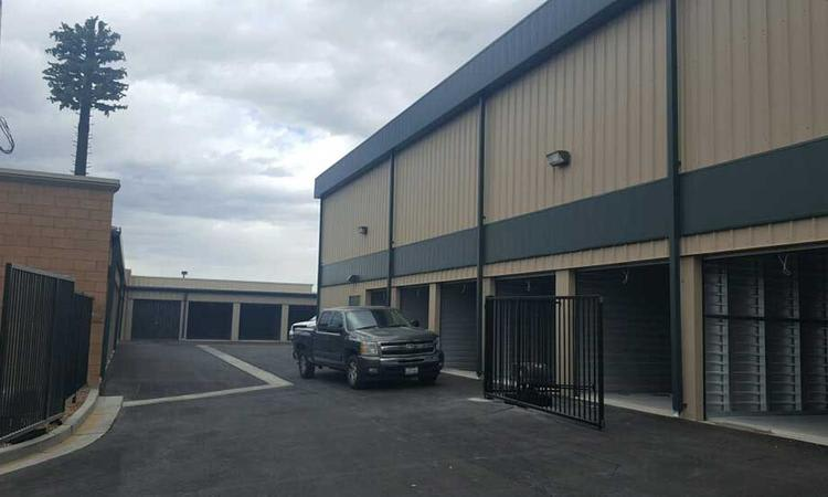 Driveways inside our installations at Towne Storage in North Las Vegas, Nevada