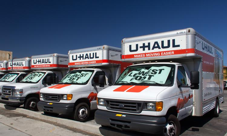 Moving truck services at Towne Storage in Las Vegas, NV
