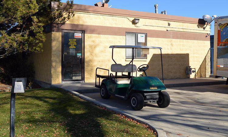 Golf car at Towne Storage
