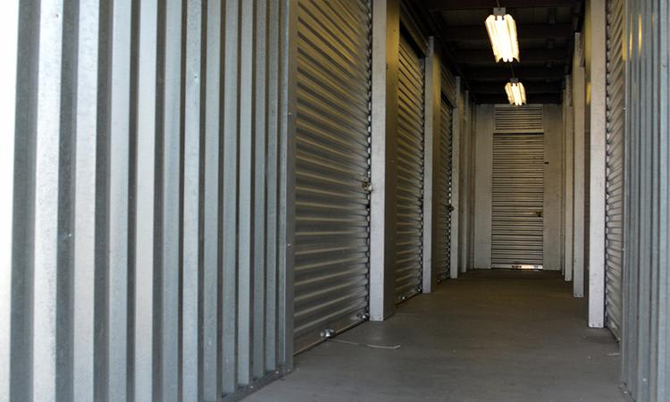 Interior view of our units at Towne Storage