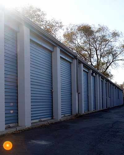 Easy access for large vehicles to our units at Towne Storage