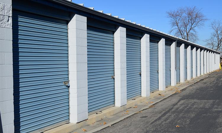 View of our units at Towne Storage