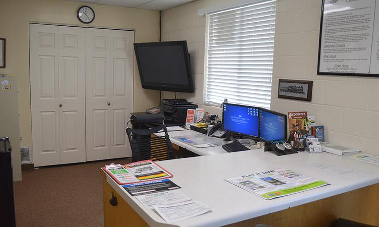 Office on-site at Towne Storage in Sandy, UT