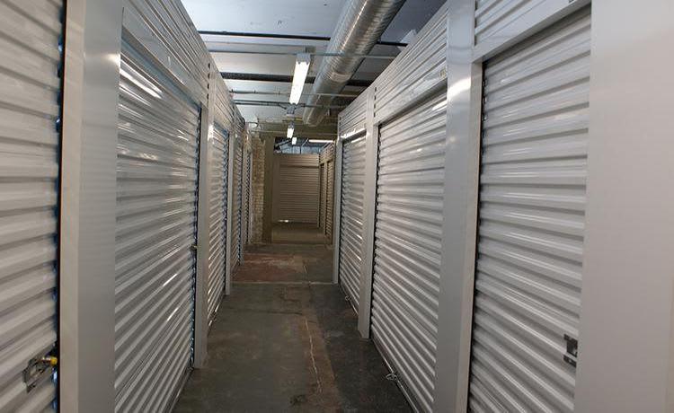 Interior units corridor at Towne Storage - Urban Edge in Salt Lake City, UT