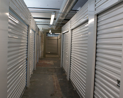 Hallway of units at Towne Storage - Urban Edge in Salt Lake City, Utah