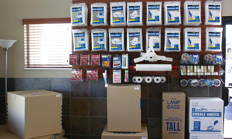 Packing supplies available for sale from Towne Storage in Orem, Utah