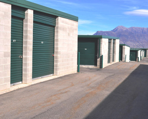 Variety of units sizes and prices at Towne Storage in Saratoga Springs, UT