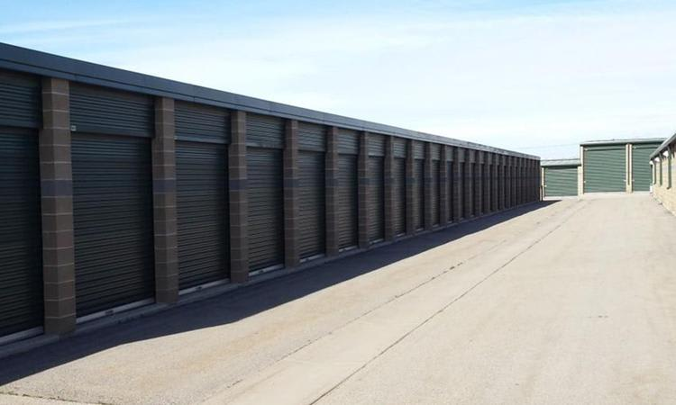 View of our units in Towne Storage in West Jordan, UT