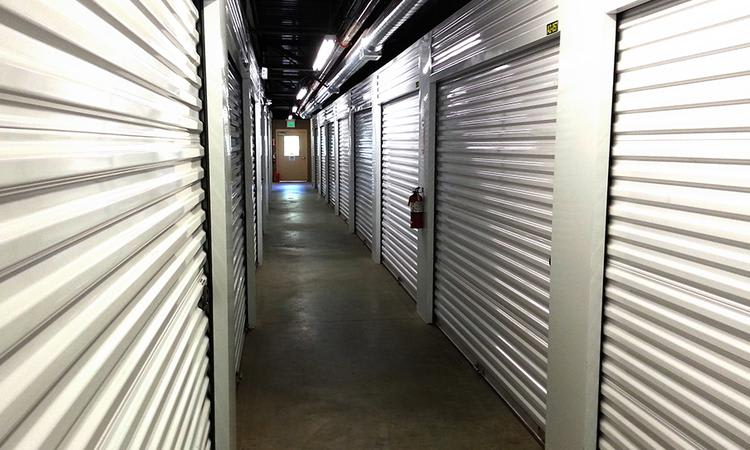 Units corridor at Towne Storage in Cottonwood Heights, UT
