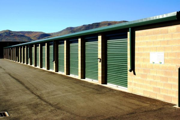Clean exterior storage units at our self storage facility in Sandy, Utah