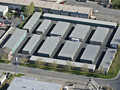 Aerial view of Towne Storage in North Salt Lake, UT