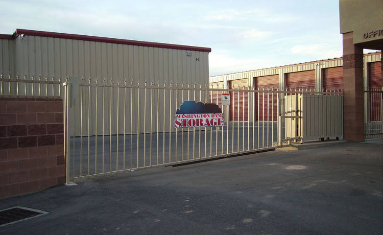 24-Hour Access Gate at Towne Storage in Washington, UT