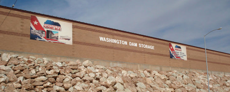 Sign from the road of Towne Storage in Washington, UT