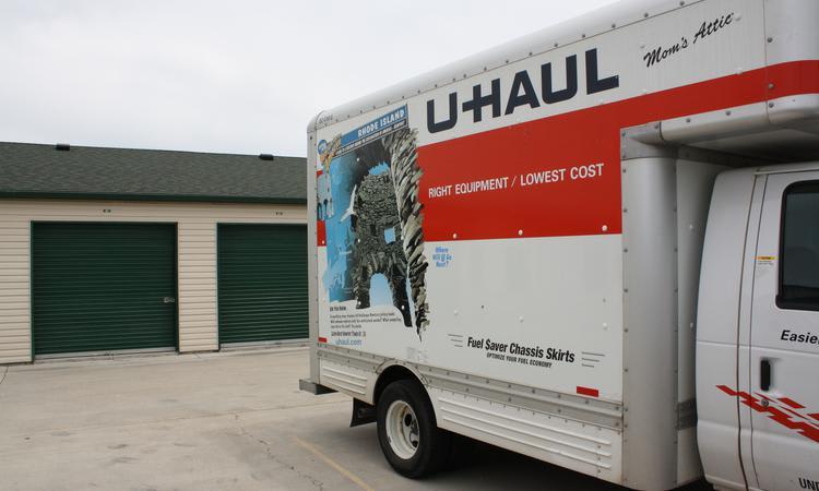 Moving truck at Towne Storage in Riverton, UT