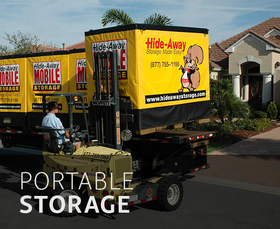 Portable storage in Sarasota, FL