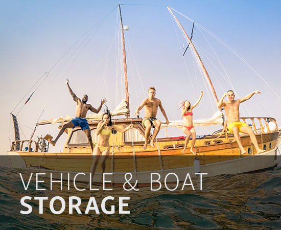 vehicle and boat storage in Sarasota, FL