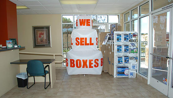 West Simi Lock-Up Self Storage offers moving supplies.