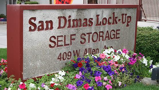 Secure storage units at San Dimas Lock-Up Self Storage.