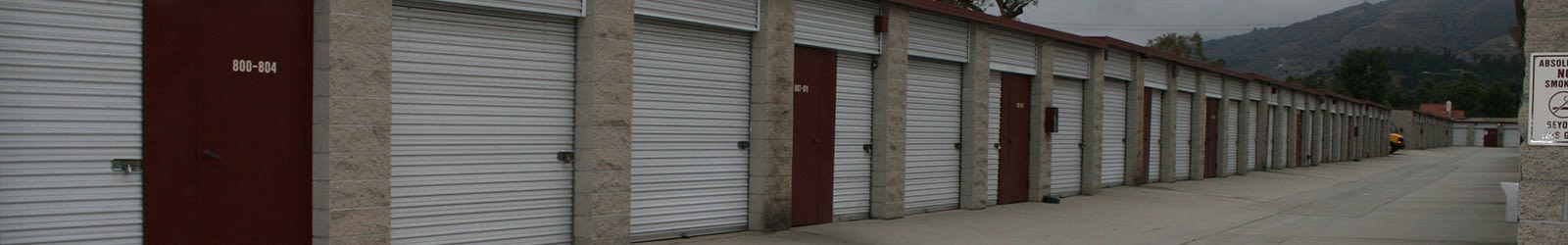 Storage units in San Dimas, CA