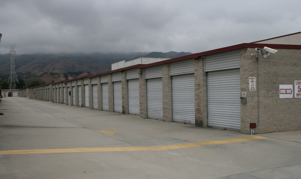 Easy access storage at San Dimas Lock-Up Self Storage