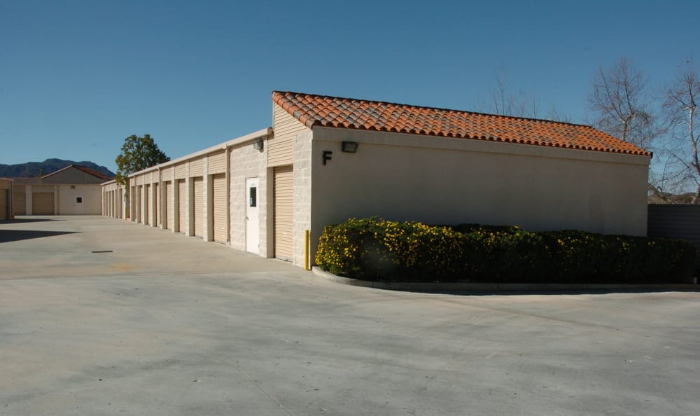 North Ranch Self Storage has gated, drive up access.