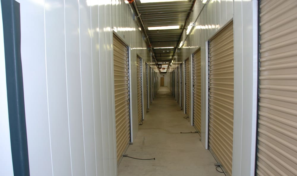 Easy access storage at North Ranch Self Storage